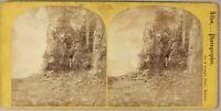 Mount Desert Norris Telo USA Foto Allen Stereo PL55L2n Vintage Albumina c1870