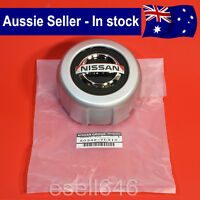 GENUINE NISSAN PATROL GU Y61 REAR ALLOY RIM WHEEL CENTRE CAP COVER 40342-VC310