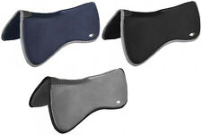 LeMieux WITHER RELIEF Memory Foam HALF PAD Correction Riser Black/Navy/Grey