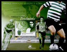 """Fußball. 100 Jahre Fußballverein """"Sporting Lissabon"""". Block. Portugal 2005"""
