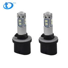 2x 880 899 8000K Ice Blue 50W CREE LED Headlight Bulbs Kit Fog Driving Light NEW