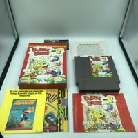 Bubble Bobble Part 2 (Nintendo, NES) 100% Complete, Cib  Whit Insert  Nice Copy!