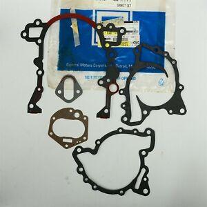 84-86 Buick Olds 3.6L V6 Turbo Timing Cover Gasket Set GM 12337540 NOS