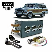 Jeep Willys-Overland Underdash Cab Heater Box Assembly Copper Fittings 12V CJ-3b