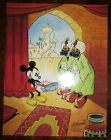 Mickey Mouse Paintings by Floyd Gottfredson Disney Catalog Book 1993 Color