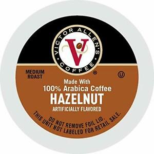 Victor Allen Coffee Hazelnut Coffee 42 Count