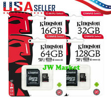 Kingston Micro SD Card 16GB 32GB 64GB 128GB TF Class 10 Android Nintendo Samsung