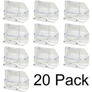 Pet Ting External Cage Feeder Clear Pack of 20