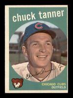 1959 Topps Set Break # 234 Chuck Tanner EX-MINT *OBGcards*