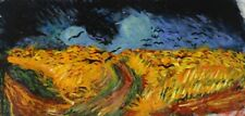 Van Gogh Wheatfield with Crows Painted in Auvers sur Oise France Van Gogh Tomb