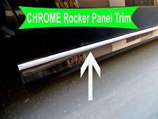 2009-2018 Fiat Chrome SIDE ROCKER PANEL Trim Molding Kit 2PC