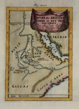 ETHIOPIA - EMPIRE DES ABISSINS BY MALLET, 1683.