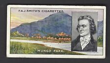 SMITH - FAMOUS EXPLORERS - #8 MUNGO PARK