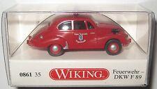 Wiking 086135 DKW F89 1950 Freiwillige Feuerwehr Ingolstadt 1:87 HO