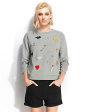 Etoile Isabel Marant Kenny fleece, black Shorts, size 36, AUS 8-10, NWT