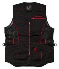 Browning Ace Shooting Vest (Large) Black/Red