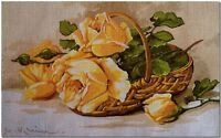 Gobelin Tapestry Needlepoint Kit Roses printed canvas 644