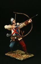 Tin soldier, Collectible, English Archer, XV c. 54 mm, Medieval