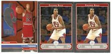 TYRUS THOMAS (3 CARD ROOKIE LOT) 2006-07 TOPPS CHROME 189 FINEST 122 SERIAL /999