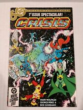 Crisis On Infinite Earths 1-9, 12 (DC 1985) Higher Grade Condition