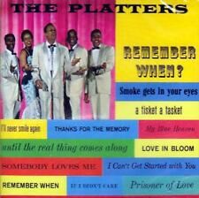 THE PLATTERS - REMEMBER WHEN? (NEW SEALED CD)