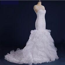 Avorio Bianco Abito da sposa abito da sposa Custom
