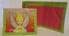 Disney Tinkerbell Pink and Green Girls Bifold Wallet