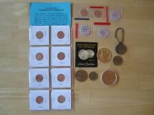 Medal Lot:  George Washington, U.S. Mint,  St. Anthony, Mother, James Polk, etc