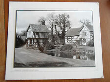 "Vintage B + W Photograph LOWER BROCKHAMPTON ~ 10"" x 7.5"" Suitable for Framing"