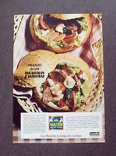 F645- Advertising Pubblicità - 1963 - MANZOTIN , SI MANGIA ALLA CASALINGA