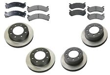 Chevrolet Silverado 2500 HD Base V8 6.0L 2003 OPparts Ceramic Complete Brake KIT