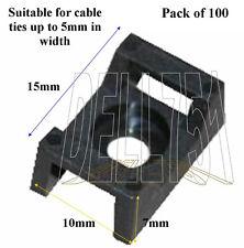 Vis bas cable tie base (5mm tie) (Pck/100) A/CA3