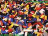 100 Aléatoire assorti pièces briques de LEGO supplémentaire set