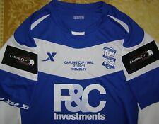Gardner 8 Carling Cup Final 2011 Birmingham City home shirt size XL jersey MINT