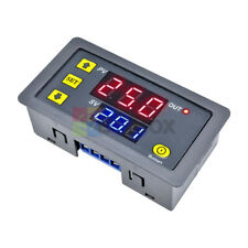 0-999 hours Timing Delay Relay Module 12V Digital Thermostat w/ LED Dual Display