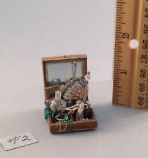 Dollhouse miniature 1/12th scale jewelry box #2