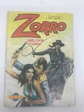 ZORRO #7 - 1980s 80s - Foreign Comic Book - VERY RARE - 6.0 FN