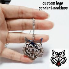 Customized Logo Name Drawing Necklace Gifts Femme Collier Men Women Necklaces