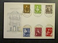 Germany DDR SC# 355 - 360 FDC / Unaddressed / Cacheted (Dated 30.6.57) - Z4576