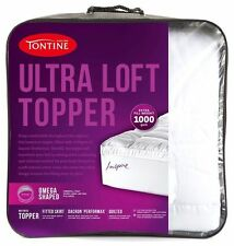 Tontine 1000GSM Ultra Loft Quilted Mattress Topper KING Bed Size RRP$249.95