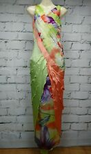 Emanuella Y Gasp Formal Dress Silk NEW RRP$490 Size XS Slinky Long Layers