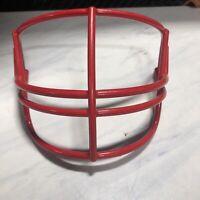 NEW Schutt Super Pro NOPO Vintage Bright Red Adult Football Helmet Facemask NOS