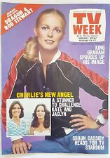 TV WEEK 1978,CHERYL LADD Charlies Angels Cover,Olivia Grease
