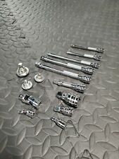 Snap-on 3/8 1/4 Adaptors, joints, universal,s, extension  and thumb drive