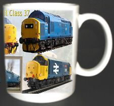 CLASS 37 BRITISH RAIL TRAIN MUG LIMITED EDITION GIFT RAILWAYS COLLECTOR SPOTTER