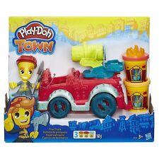 Hasbro Play-Doh Town Feuerwehrauto Basteln und Malen Kinderknete Spielzeug