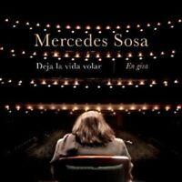MERCEDES SOSA - DEJA LA VIDA VOLAR - LIVE  CD+++++++++++17 TRACKS+++++++ NEW