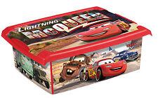 COFFRE A Jouets Mode boîte disney cars 10L Boîte de conservation