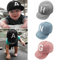 Fashion Baby Hat Baseball Cap Sun Protection For Toddler Infant Kids Cotton Hat