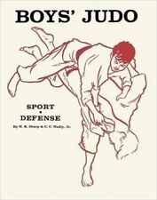 Boys Youth Judo Sport and Self Defense Paperback Hal Sharp Classic!